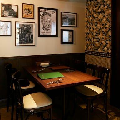 トラットリア ヴィヴァーチェ 恵比寿 店内の画像
