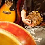 週末に開催される沖縄民謡ライブ 平日もご要望次第で開催します