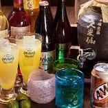 古酒・オリオンビールなど 沖縄ならではのドリンクもたくさん!