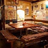 沖縄の雰囲気満点のテーブル席♪その1☆