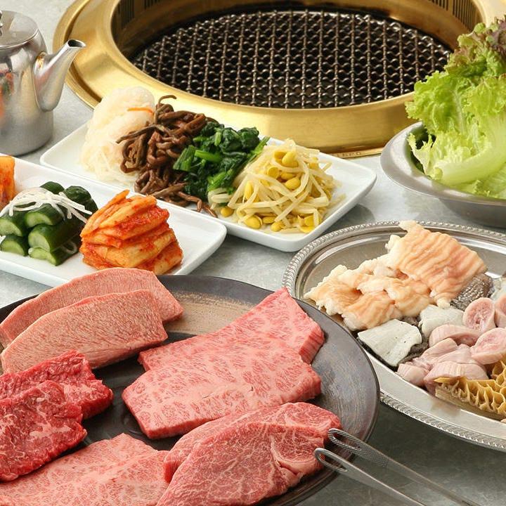 当店自慢の肉を堪能できるコース! 6,500円(税抜)~ご用意
