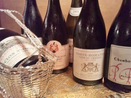 亭主厳選のビオワインやブルゴーニュ