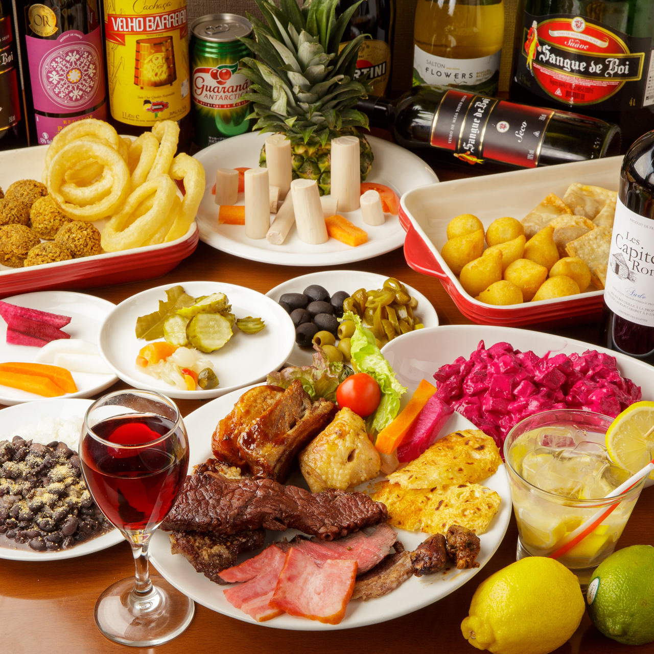 本場の料理人が作るブラジル料理