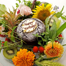 手積みの生花で彩るアニバーサリー!
