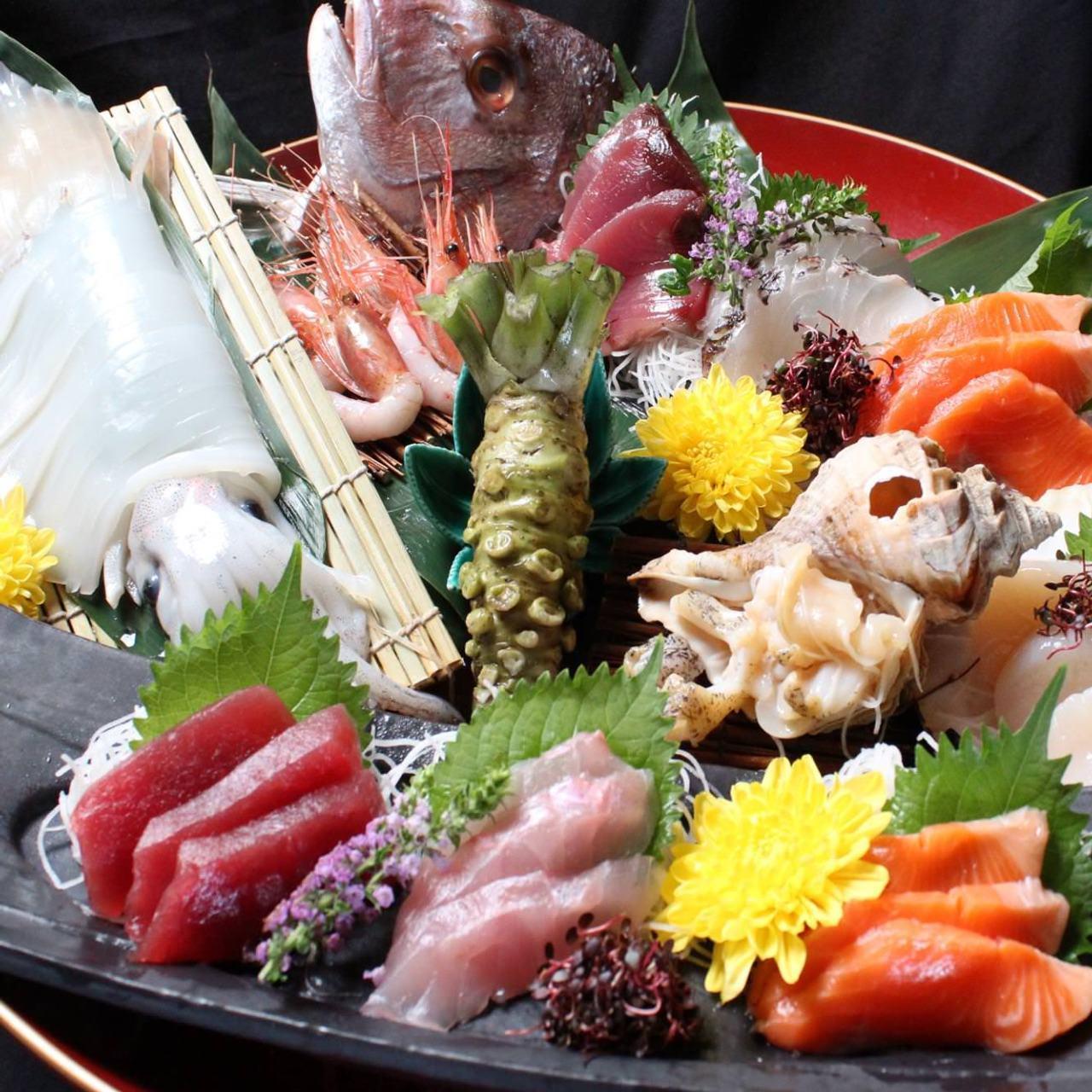【北海道】海の幸・山の幸~肉海鮮~