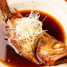 北海道産の高級魚きんきの煮つけ ※通常2000円⇒特別価格500円にてご提供します!