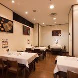 ◆空間◆ 広々空間でお食事を♪