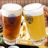 ③飲み放題1500円 北海道のお酒が楽しめます!