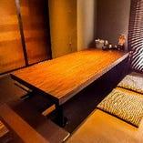 ①宴会やお集まりに人気の堀コタツのお席【個室35名まで完備】