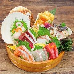 北海直送鮮魚 お宝桶盛