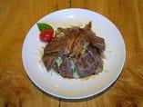 熱川ポークのロース焼定食