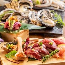 牛タン・仙台牛はもちろん仙台鮮魚など自慢の素材を使用した逸品料理が絶品♪