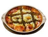スパイシーソーセージのマスタードチーズ焼き