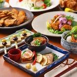 薩摩知覧鶏が味わえるコースが登場することも。旨味が豊富な鶏肉を、是非ご賞味ください。