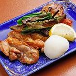 京都の地鶏を様々な調理法でお届けします。