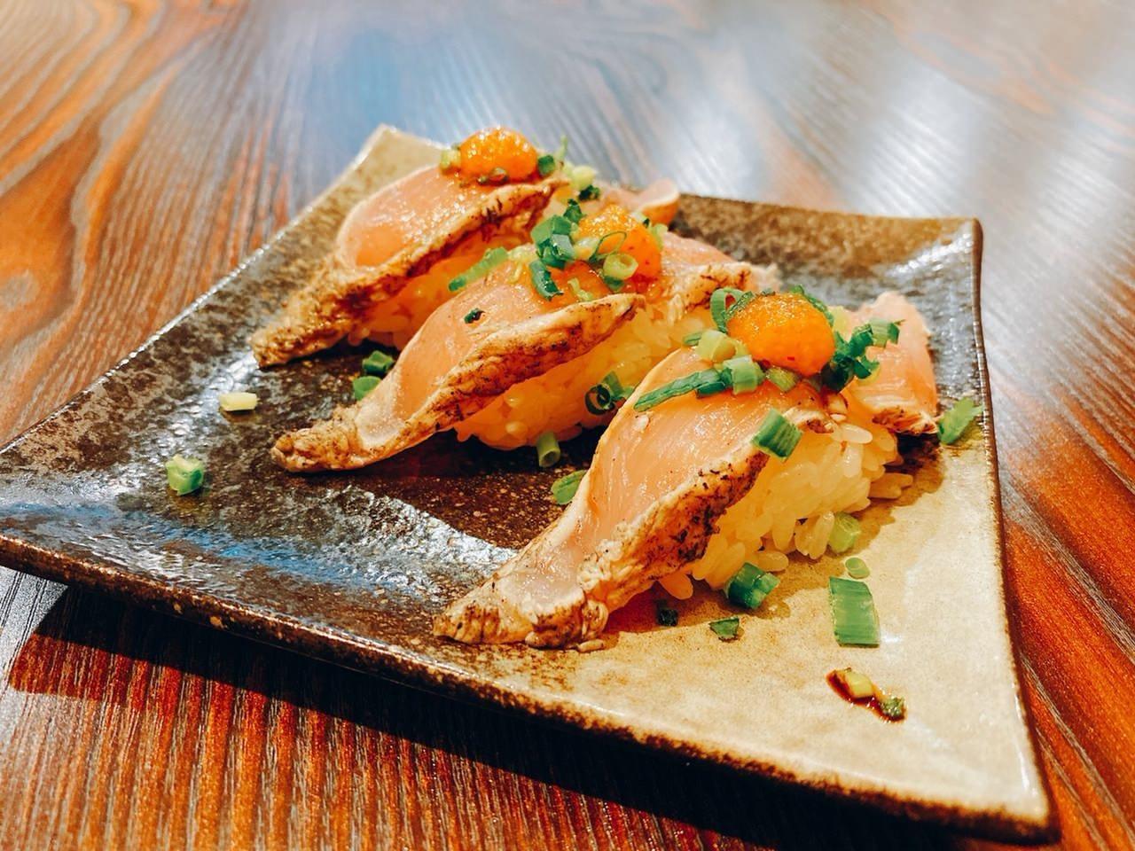 炙りササミ寿司