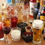 『スタンダード飲み放題』約60種類