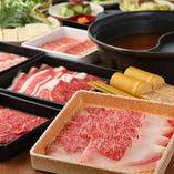 2時間食べ放題!国産牛・国産豚 「月」〈全35品〉4,680円(税抜)