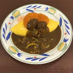 カツカレーオムライス