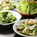 新鮮野菜の自慢サラダ