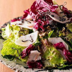 塩昆布と刻み野菜のサラダ