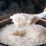 牛スープで炊いた銀白米