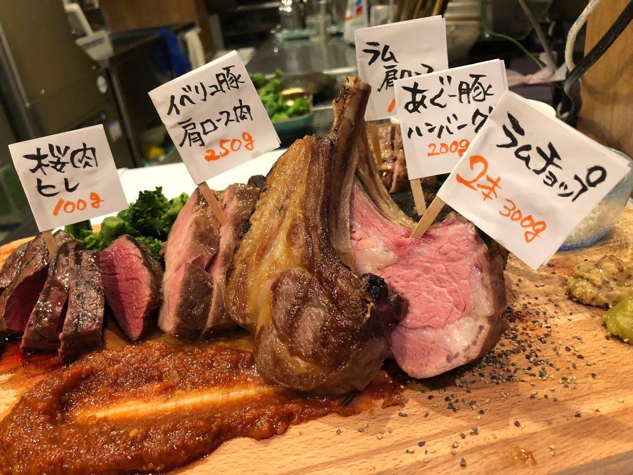 もにょの伝説肉盛り5種