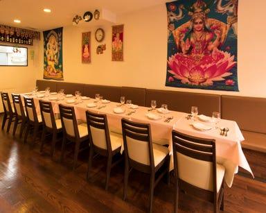 インド料理 チェルシー  店内の画像