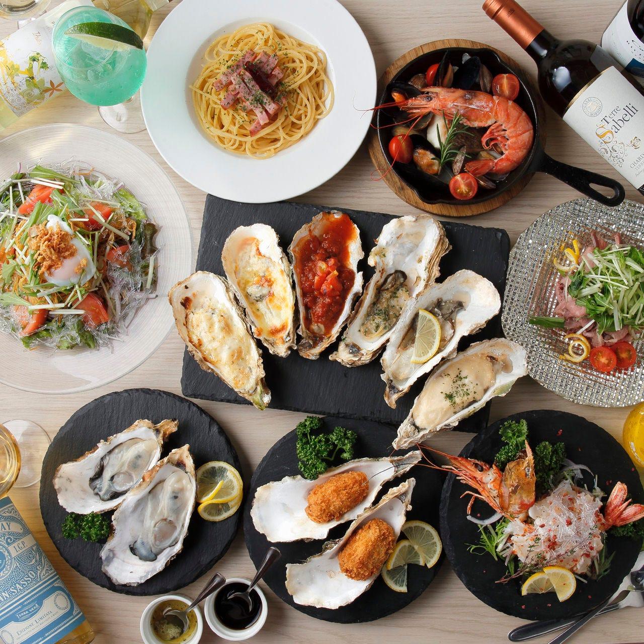 oyster bar LOG(ログ)東金