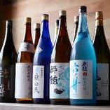 日本酒は常時10種類ほどご用意しております。