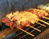 ◆ 美味!!『タマシャモ』串焼き ◆