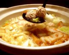 シャモガラスープ鍋!