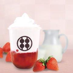 専門店が作る わらびもちドリンク 贅沢いちごミルク(アイス)