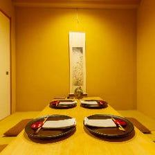 ◆上質な空間で酒食を堪能…