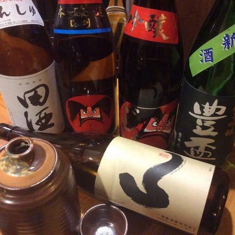 日本酒の種類が豊富!