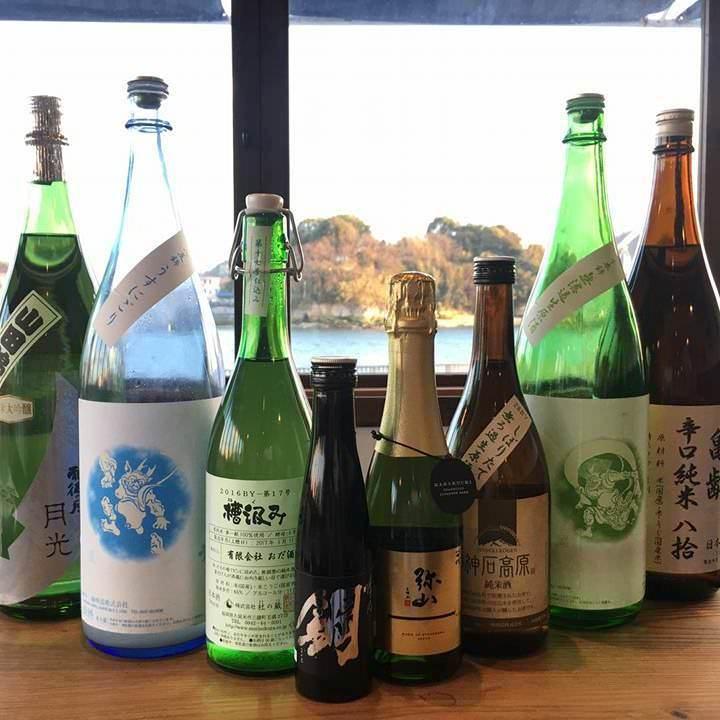 広島の地酒はもちろん ワイン、梅酒もございます