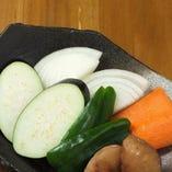 農家直送の新鮮な野菜もたっぷりご堪能ください!
