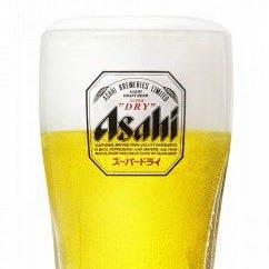 ビールはアサヒスーパードライ!ハイボールはジャックダニエル!