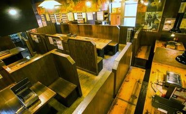 焼肉まるしま 江戸堀店 店内の画像