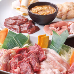WEB予約がスムーズ♪豚ホルモンコース+90分飲み放題付き3,500円! 知立駅前での焼肉宴会なら!