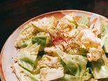 キャベツの塩サラダ