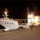 金沢港の網元漁船「恵比寿丸」より毎日直送された鮮魚をご提供!