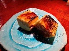 大分 カボスシロップ香る バスク風チーズケーキ ~目の前仕上げ~