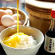 卵かけごはん食べ放題。卵もお醤油もイチオシ揃えてます。