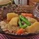ごはんやの定番、肉じゃが。ジャガイモの旨味×あっさり出汁。