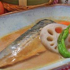 鯖の味噌煮御膳