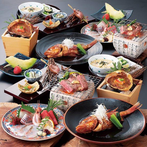 【喜コース 6,000円】2H飲放付+料理7品 飲み会・宴会