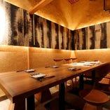 ご接待やご会食、各種ご宴会に最適な大小個室をご用意。