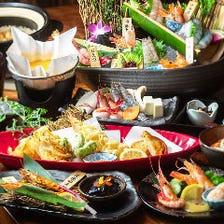 海老と旬魚満喫!3,278円(税込)~