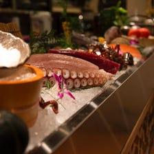 紀州の漁師から直接買付ける新鮮魚介